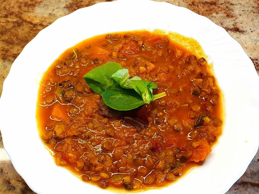 Linsen Tomaten Suppe