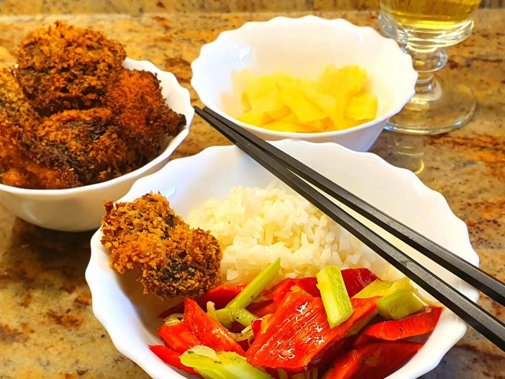 Shitake, frittiert